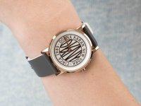 Zegarek różowe złoto klasyczny DKNY Pasek NY2764 pasek - duże 6