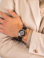 Zegarek różowe złoto klasyczny Epos Originale 3437.135.24.15.25 pasek - duże 5