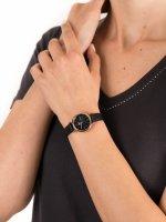 Zegarek różowe złoto klasyczny Fossil Carlie ES4700 pasek - duże 5