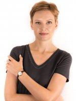 Zegarek różowe złoto klasyczny Fossil Jacqueline ES4410 pasek - duże 4