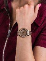 Zegarek różowe złoto klasyczny Guess Bransoleta W1235L3 bransoleta - duże 5