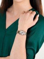Zegarek różowe złoto klasyczny Guess Bransoleta W1273L3 bransoleta - duże 5