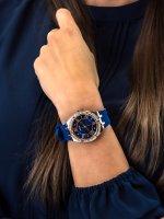 Zegarek różowe złoto klasyczny Guess Pasek GW0034L4 pasek - duże 5