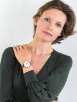 Zegarek różowe złoto klasyczny Lacoste Damskie 2001060 bransoleta - duże 4