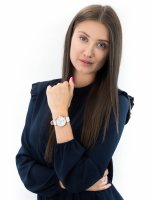 Zegarek różowe złoto klasyczny Meller Astar W1R-1WHITE pasek - duże 4