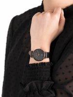 Zegarek różowe złoto klasyczny Meller Astar W1RN-1BLACK pasek - duże 5