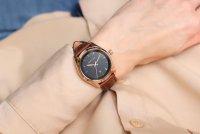 Zegarek różowe złoto klasyczny Meller Maya W9RN-1CHOCO pasek - duże 7