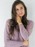 Zegarek różowe złoto klasyczny Michael Kors Sofie MK2715 pasek - duże 4