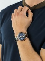 Zegarek różowe złoto klasyczny Nautica Pasek NAPPLH003 pasek - duże 5