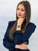Zegarek różowe złoto klasyczny Pierre Ricaud Pasek P22045.9G6AQ pasek - duże 4