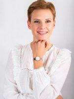 Zegarek różowe złoto klasyczny Rosefield Gloss SHMWR-H30 pasek - duże 4