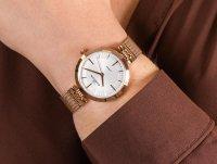Zegarek różowe złoto klasyczny Rubicon Bransoleta RNBE30RISX03BX bransoleta - duże 6