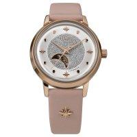Timex TW2U54700 zegarek różowe złoto klasyczny Celestial Automatic pasek