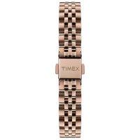 Zegarek różowe złoto klasyczny Timex Model 23 TW2T88500 bransoleta - duże 5
