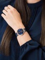 Zegarek różowe złoto klasyczny Tommy Hilfiger Damskie 1782219 bransoleta - duże 5
