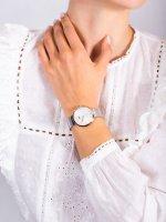 Zegarek różowe złoto klasyczny Tommy Hilfiger Damskie 1782221 bransoleta - duże 5