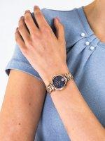 Zegarek różowe złoto klasyczny Versus Versace Damskie VSPHK1020 bransoleta - duże 5