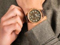 Zegarek różowe złoto klasyczny Vostok Europe Almaz NH35A-320O516 pasek - duże 6