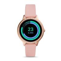 Fossil Smartwatch FTW6066 zegarek różowe złoto sportowy Fossil Q pasek