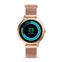 Fossil Smartwatch FTW6068 zegarek różowe złoto sportowy Fossil Q bransoleta