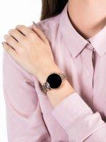 zegarek Garett 5903246282832 Smartwatch Garett Women Lisa złoty stalowy damski z krokomierz Damskie