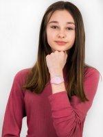 Zegarek różowy fashion/modowy ICE Watch Ice-Duo ICE.001493 pasek - duże 4