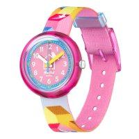 Zegarek różowy klasyczny  Power Time FPNP067 pasek - duże 4
