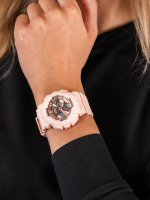 Zegarek różowy sportowy  Baby-G BA-130-4AER pasek - duże 5