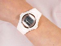 Zegarek różowy sportowy Casio Baby-G BG-169G-4BER pasek - duże 6