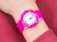 Zegarek różowy sportowy Lorus Dla dzieci RRX17GX9 pasek - duże 6