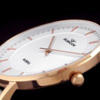 Rubicon RNAD75RISX03BX zegarek damski Pasek