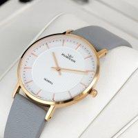 Rubicon RNAD75RISX03BX zegarek klasyczny Pasek