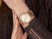 zegarek Rubicon RNBD04RIRX03AX damski z chronograf Bransoleta