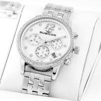zegarek Rubicon RNBD10SISX03AX damski z chronograf Bransoleta