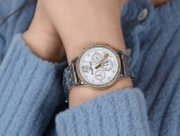 zegarek Rubicon RNBD10TIMX03AX damski z chronograf Bransoleta