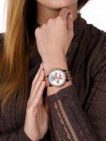 zegarek Rubicon RNBD10TISZ03AX damski z chronograf Bransoleta