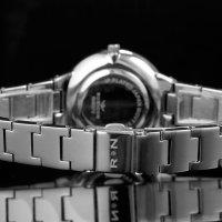 Rubicon RNBD72SIWX03BX zegarek srebrny klasyczny Bransoleta bransoleta