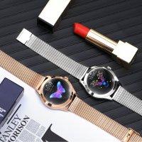 zegarek Rubicon RNBE37SIBX05AX Smartwatch Rubicon RNBE37 srebrny Smartwatch mineralne