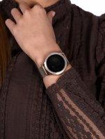 zegarek Rubicon RNBE45RIBX05AX Smartwatch Rubicon RNBE45 różowe złoto Smartwatch mineralne
