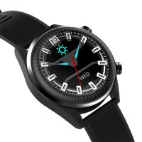 Rubicon RNCE41BIBX01AX Smartwatch sportowy zegarek czarny
