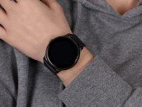 zegarek Rubicon RNCE61BIBX05AX kwarcowy męski Smartwatch Smartwatch Rubicon RNCE61 czarny AMOLED