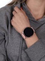 zegarek Rubicon RNCE61RIBX05AX różowy Smartwatch