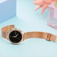 zegarek Rubicon SMARUB055 kwarcowy damski Smartwatch Smartwatch Rubicon RNBE66 różowe złoto