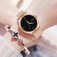 zegarek Rubicon SMARUB055 Smartwatch Rubicon RNBE66 różowe złoto Smartwatch