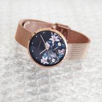 Zegarek S700LXVBMV-DF  Flower szkło mineralne - duże 9