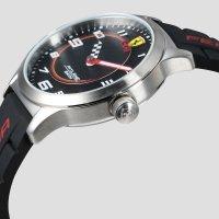 Scuderia Ferrari SF 860012 zegarek srebrny klasyczny Pitlane pasek