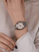 zegarek Seiko SRWZ02P1 damski z chronograf Chronograph