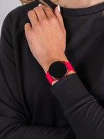 zegarek Garett 5903246286342 Smartwatch Garett Lady Bella czerwony damski z krokomierz Damskie
