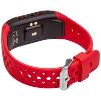 zegarek Garett 5906874848760 Smartband Opaska Sportowa Garett FIT 20 GPS Czerwony męski z gps Smartbandy - Opaski sportowe