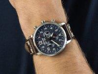 Adriatica A8308.5225CH Chronograph zegarek sportowy Pasek